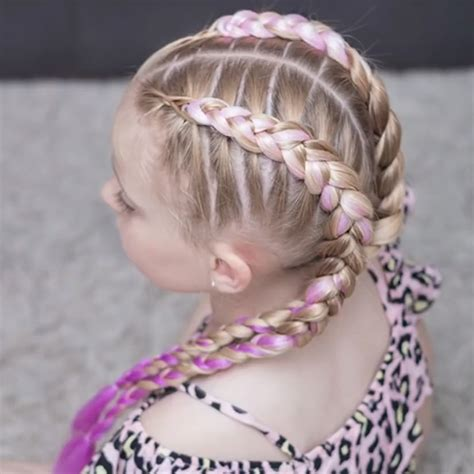 The perfect hairstyle for hot summer days #easybraids in