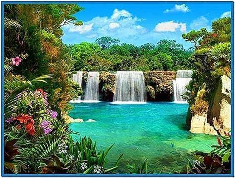 living waterfall screensaver  sound