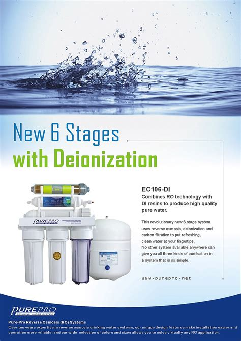 sink water filter purepro osmosis water filter systems