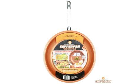 original copper pan     set   stick copper pan groupon
