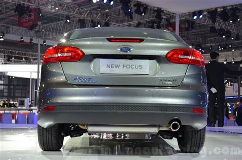 Ford Focus China by Ford Focus China Spec Rear At 2015 Shanghai Auto Show