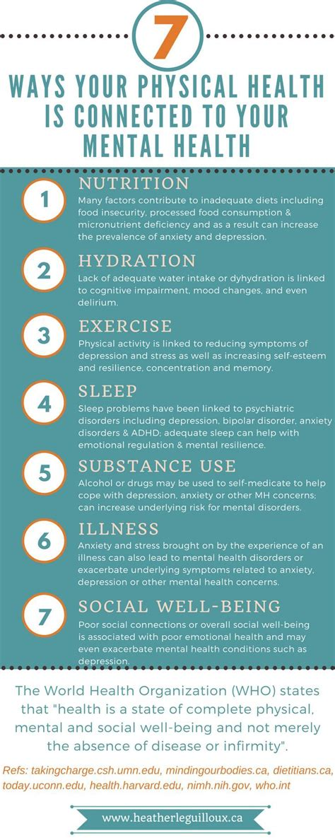 ways  physical health  connected   mental