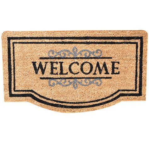 doormats and more welcome door mat 40cm x 70cm home store more