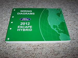 2012 Ford Escape Hybrid Electrical Wiring Diagram Manual