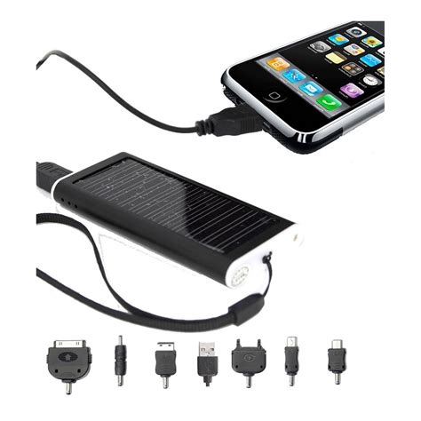 iphone solar charger portable 800mah solar charger adapter for iphone ipod mp3