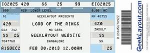 create fake movie tickets and concert tickets computer With fake movie ticket template