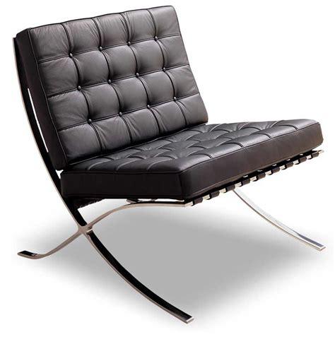 chaise barcelona base furnishings furniture modern chairs e