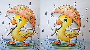 How To Draw A Duck Easy Step By Step For Kids