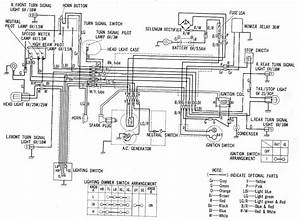 1982 Honda Trail 110 Wiring Diagram