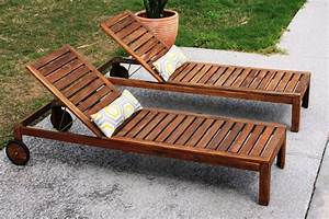 Teak Wood Double Chaise Lounge Chair Outdoor Teak Chaise