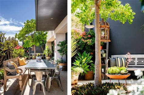 centre de table de cuisine maison moderne à la déco éclectique en australie