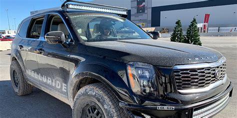 Kia New Truck 2020 by Sema Kia S 2020 Telluride Will Be Gutsy Adventure Vehicle