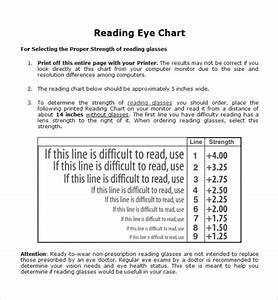 12 Eye Chart Templates Sample Templates