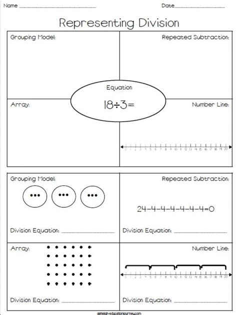 Create Your Own Division Worksheets  Division Worksheets And Math On Pinterestdivision Long