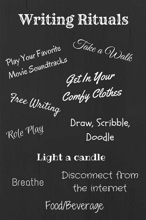 Image result for writing rituals