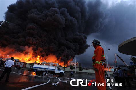 长沙旺旺食品厂区发生大火 22台消防车紧急救援_资讯频道_凤凰网