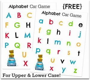 Letters » Printable Alphabet Letters Upper And Lower Case ...