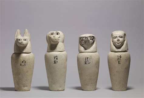 canap ik file a complete set of canopic jars walters