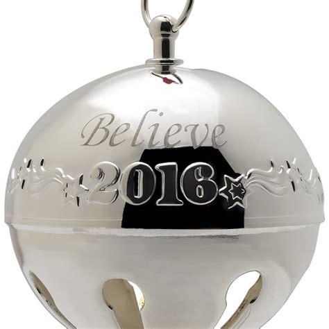 2016 bells on christmas 2016 believe bell polar express bell silverplate ornament