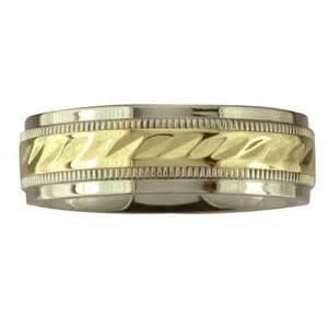 walmart wedding rings for him 39 s wave center wedding band in 10kt gold walmart