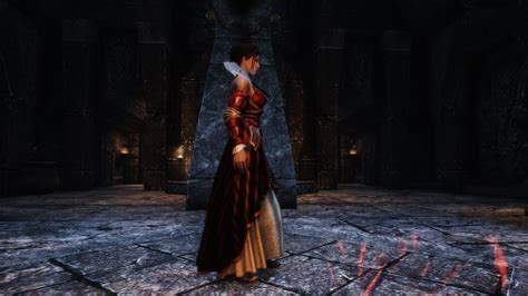 the witcher 2 eilhart dress at skyrim nexus mods and community