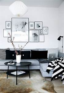 Schweden Style Einrichtung : simple black and white apartment design attractor ~ Lizthompson.info Haus und Dekorationen