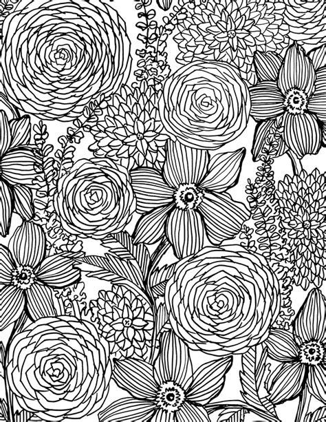 alisaburke flower power coloring book  sale