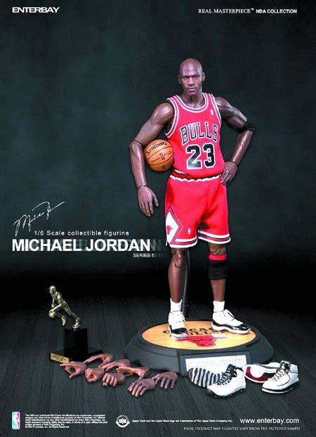 enterbay michael jordan  doll figure real masterpiece