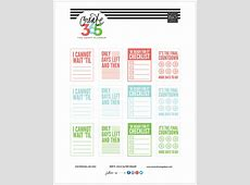 'COUNTDOWN' free printables for The Happy Planner™ — me