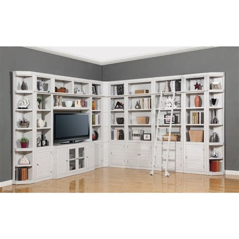 library wall units bookcase parker house boca 11pc corner library bookcase wall unit