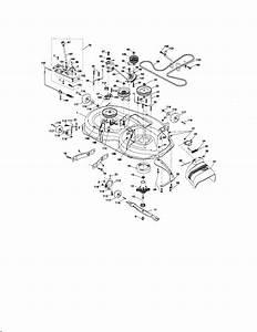 Craftsman Model 917276683 Lawn  Tractor Genuine Parts