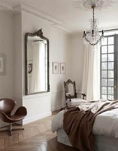 comment decorer avec le grand miroir ancien idees en With miroir chambre a coucher