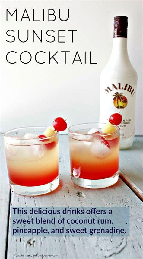 Und zum schluss über den cocktail den malibu gießen. The 25+ best Beach drink recipes ideas on Pinterest | Sex ...