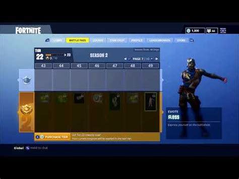 fortnite battle royale floss dance looped   minutes