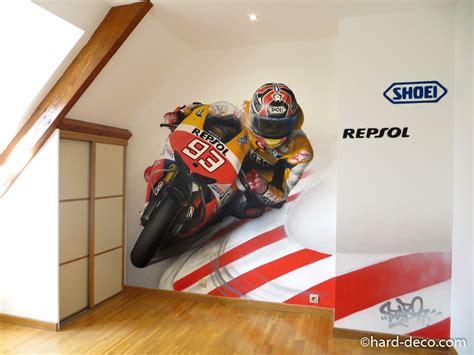 idee decoration chambre garcon déco chambre moto