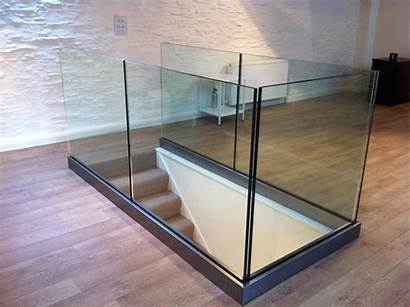 Glass Railing Shoe Balustrades Base Frameless Metal