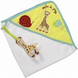 Sortie De Bain Enfant : sortie de bain b b sophie la girafe de vulli sur allob b ~ Teatrodelosmanantiales.com Idées de Décoration