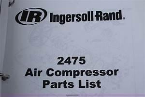 Ingersoll Rand Compressor Parts Diagram