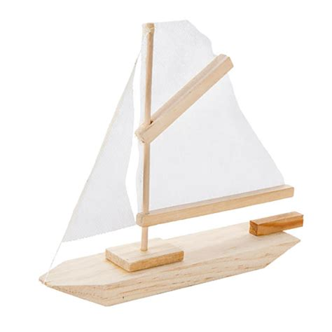 Sailboat Model Kit by Wooden Sailboat Model Kit Wood Craft Kits Unfinished