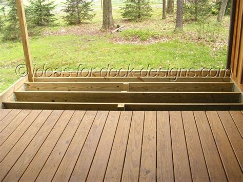 2x6 Decking Vs 54 by Wood Deck Pavers Framing Deck
