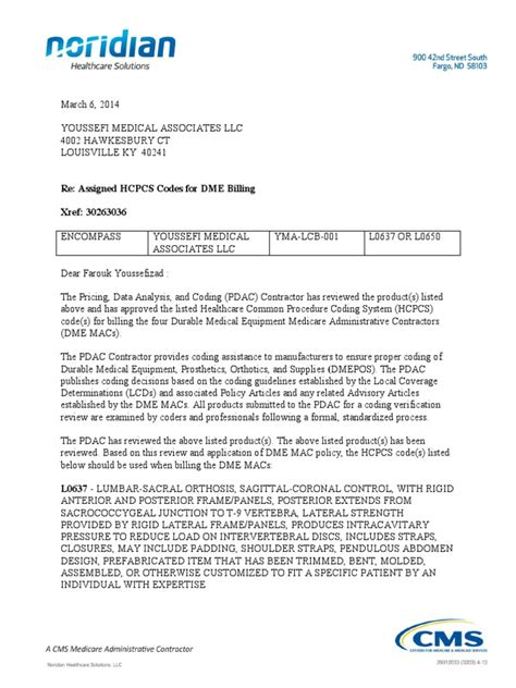 Health insurance appeal letters aim to bring to justice to the undue delay that the health insurance claims. pdac letter-30263036-coding verification | Health Care | Public Health