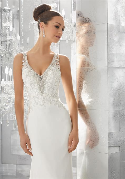 myka wedding dress style  morilee