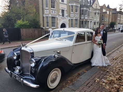Classic Bentley Wedding Car For Hire In London