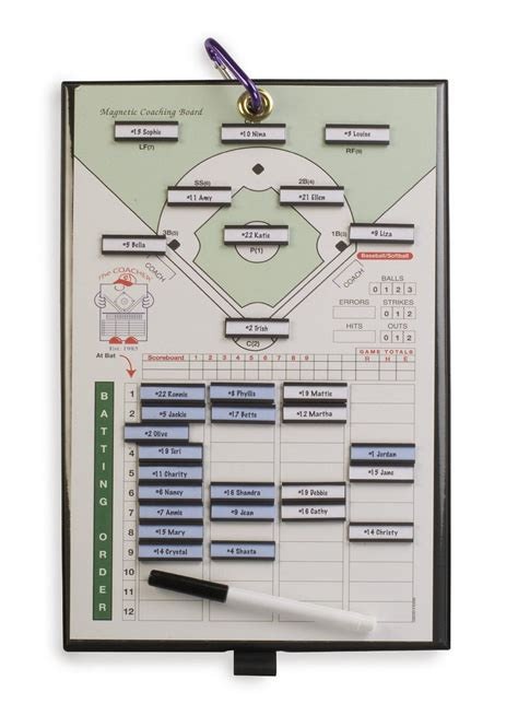 Athletic Specialties Coacher Magnetic Baseball