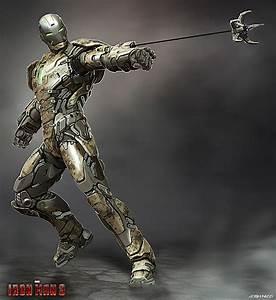 Iron Man 3 Unused armor designs