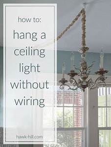 Instructions For Hanging A Ceiling Light Without Ceiling