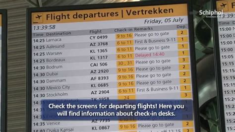 Schiphol Departure by Directions For Departure From Amsterdam Airport Schiphol
