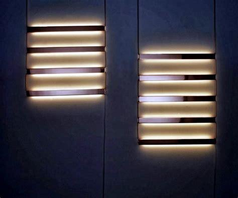 Contemporary wall ? original concept for mood lighting