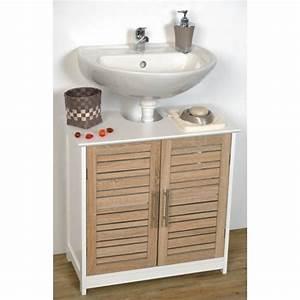 Meuble Salle De Bain Sous Lavabo : meuble sous lavabo leroy merlin ~ Farleysfitness.com Idées de Décoration