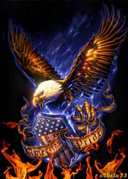 Patriotic Eagle Happy 4th July American Pride